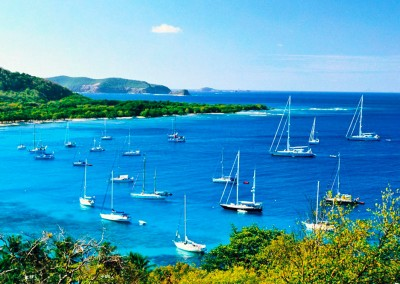 St Lucia to The Grenadines