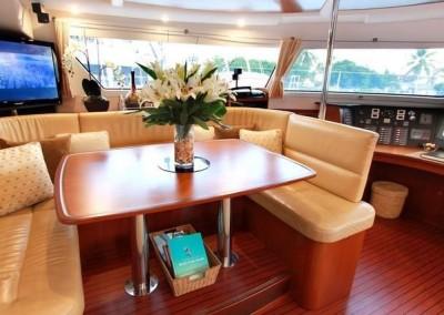caribbean charter yacht pas de deux 11