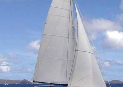 caribbean charter yacht pas de deux 13