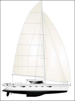 caribbean charter yacht pas de deux 19
