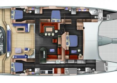 Catamaran Windquest 10