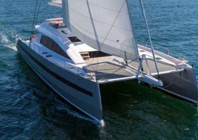 Catamaran Windquest 2