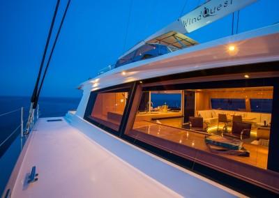 Catamaran Windquest 35