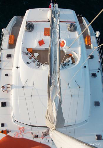 Catamaran Maita'i available for private charter in the Caribbean