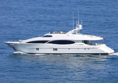 Crewed Yacht Charters in the Caribbean aboard Motor Yacht Le Reve banner