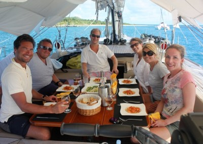 Luxury Yacht Charter aboard Pacific Wave 5