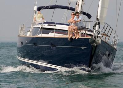 Luxury Yacht Charters aboard Tilly Mint 15