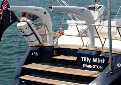 Luxury Yacht Charters aboard Tilly Mint 5