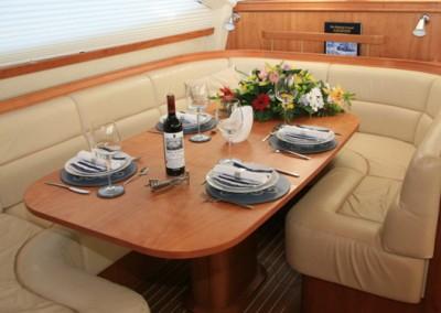 Luxury Yacht Charters aboard Tilly Mint 6