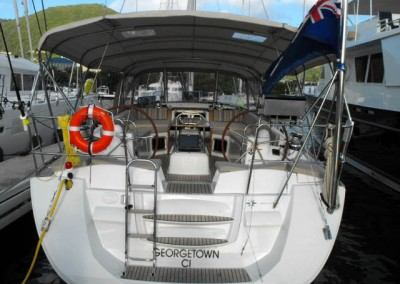 Luxury Yacht Charters in the Caribbean aboart Sailing Yacht Zuma 9