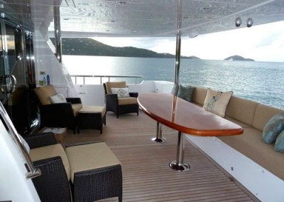 Moto Yacht GO is available for charter in the Caribbean 3