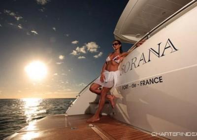 luxury yacht charter aboard motor yacht sorana 4