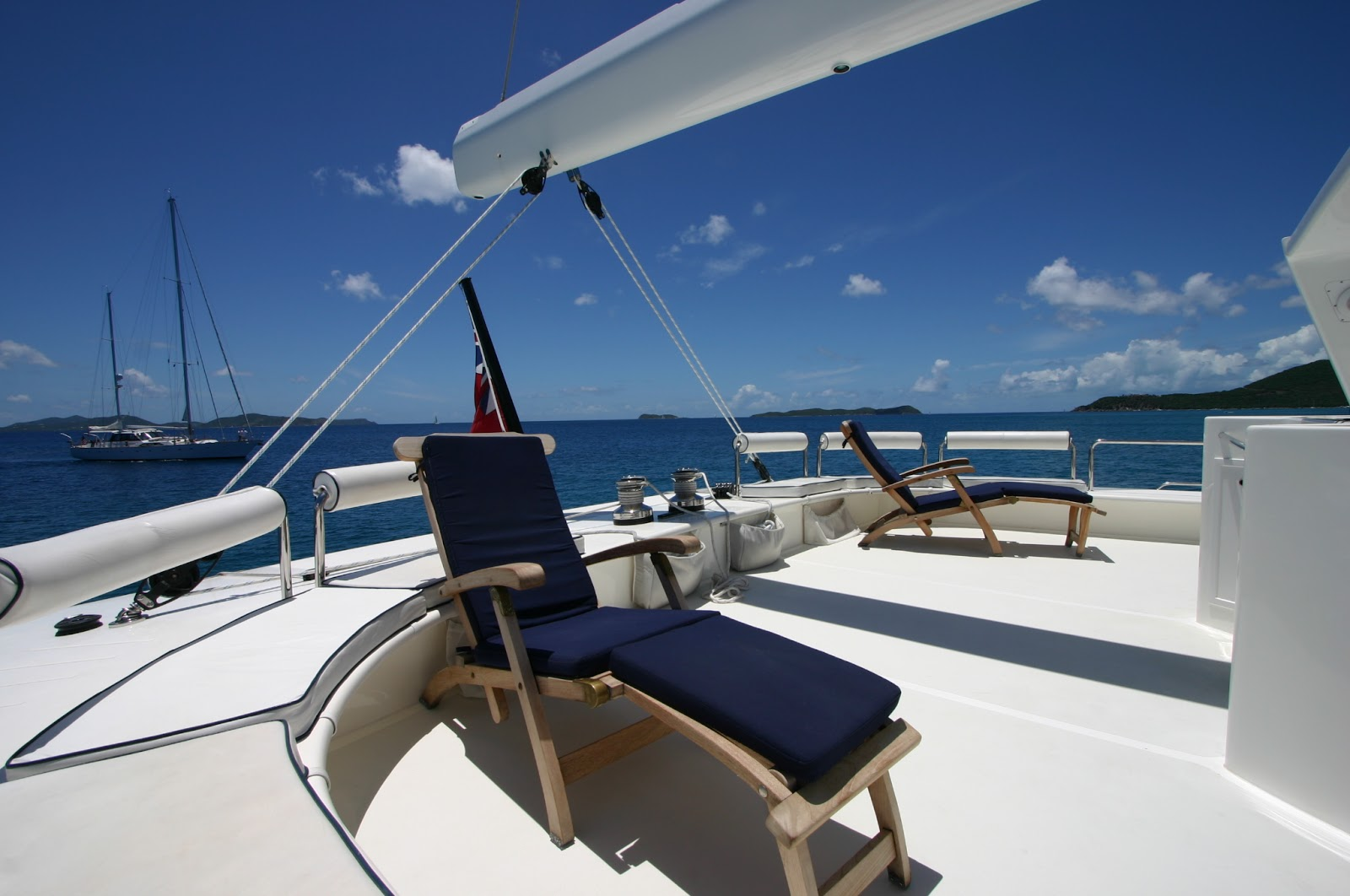 A Luxury Yacht Charter in the British Virgin Islands