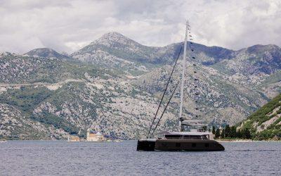 Fill The Gap on Luxury Catamaran Gyrfalcon